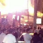 Crimen organizado desata incendio en Ixtapa, 7 inmuebles afectados