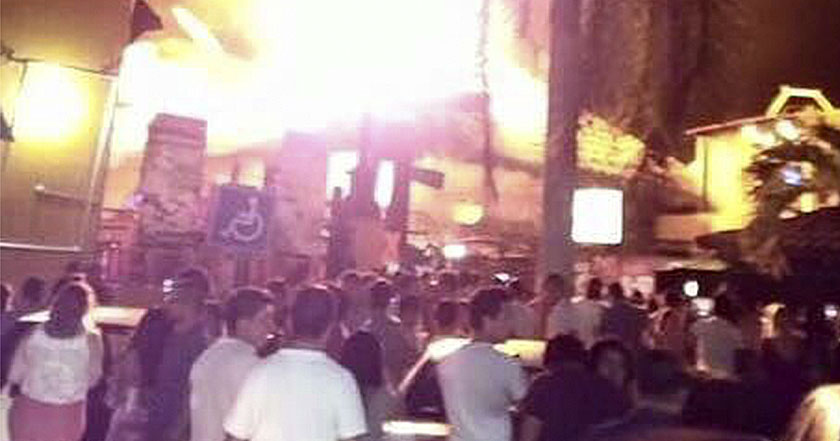 Crimen organizado incendio Ixtapa zihuatanejo guerrero inseguridad fuego