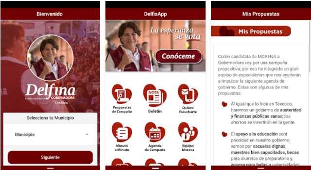 Delfina Gómez lanza la aplicación 'Delfisapp' para simpatizantes