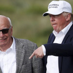 Donald Trump presidente Estados Unidos Rupert Murdoch magnate comunicaciones dueño de The Wall Street Journal