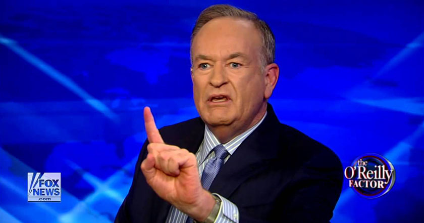 Fox News rompe contrato con Bill O'Reilly