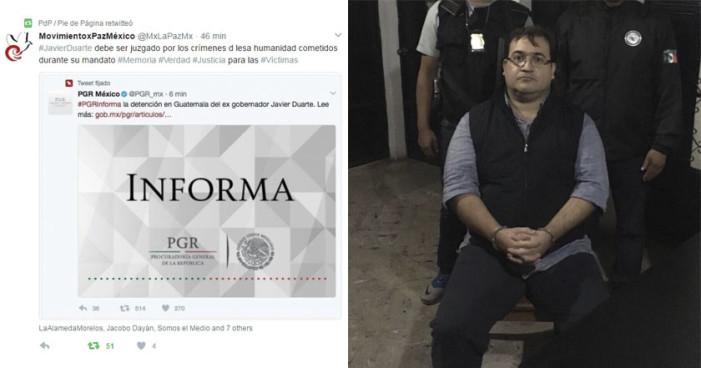 Organizaciones exigen juicio a Duarte por crímenes de lesa humanidad