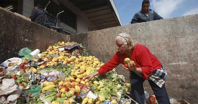alimentos desperdicio mexico pepenadores supermercados alimentación hambre