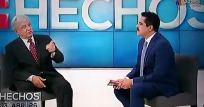 Banquero dijo a AMLO que Peña Nieto es muy débil y puede vender a México