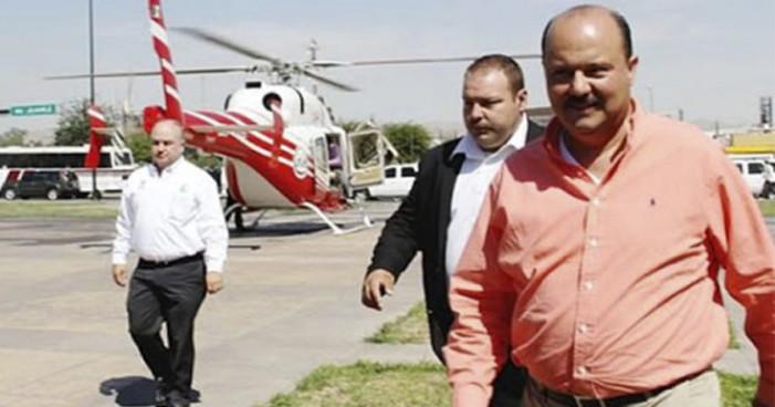 Autoridades de EU detendrán a César Duarte 'si lo ven por ahí'