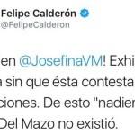Felipe Calderón se burla de Delfina Gómez por su origen humilde