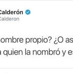 IEEM pide investigar twitt de Calderón contra Delfina Gómez por violencia política