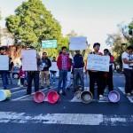 Habitantes de Coyoacán protestan por falta de agua y contra inmobiliarias