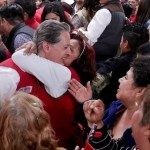 Como a Peña mujeres mexiquenses corean 'Alfredo Del Mazo eres un mangazo'