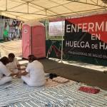 Enfermeras inician huelga de hambre para exigir medicamentos en Chiapas