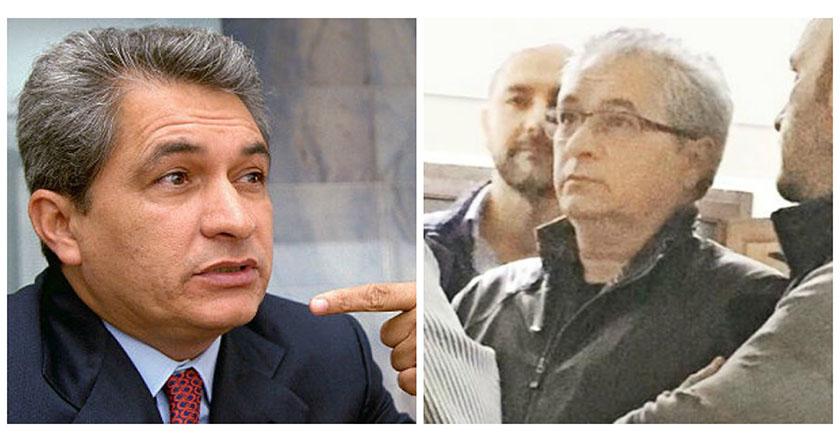 El exgobernador priista de Tamaulipas, Tomás Yarrington antes y después de su cirugía estética.