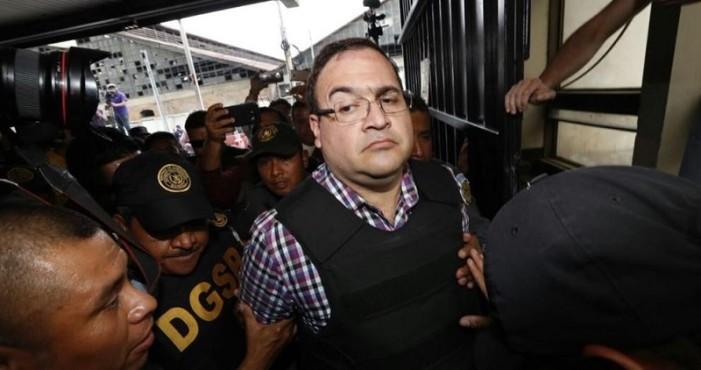 Javier Duarte denuncia sufrir 'maltrato y acoso' en penal de Guatemala
