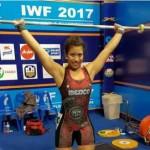 Atleta mexicana gana Bronce en Mundial de pesas
