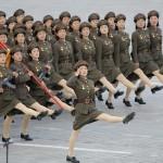 Jóvenes de Corea del Norte se declaran listos para 'aniquilar' a EU