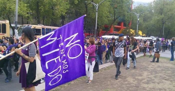 24A: Marchan mujeres contra el acoso callejero y la violencia machista