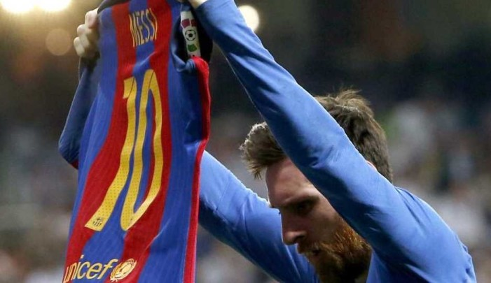 Barcelona vence 3-2 a Real Madrid, Messi anota dos goles