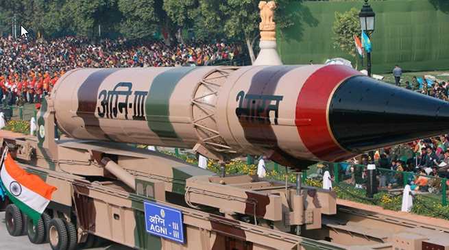 India realizó exitosamente ensayo con misil intercontinental