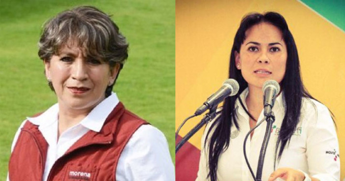 IEEM cita a Ruiz Massieu y Del Moral por violencia política contra Delfina Gómez