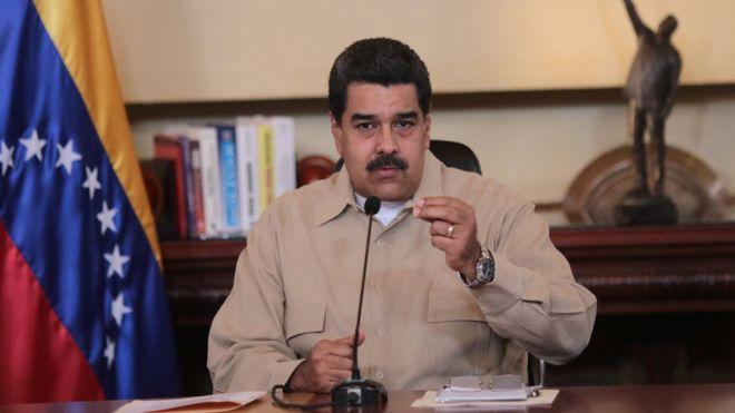 Nicolás Maduro a Juan Manuel Santos: 'Yo soy tu padre. Híncate ante tu padre'