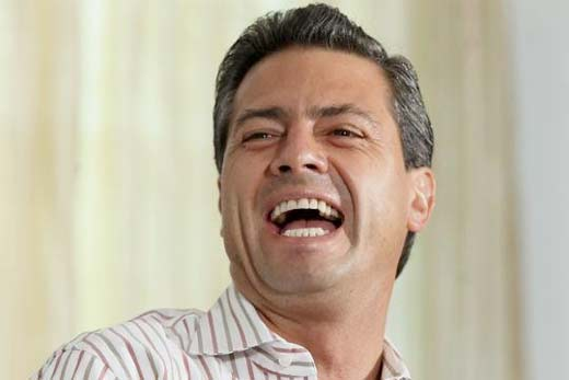"""Peña Nieto se alburea a los mexicanos: """"No hay chile que les embone"""""""