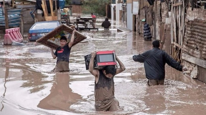 Más de un millón de afectados por inundaciones en Perú