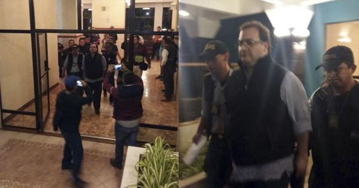 PGR afirma haber capturado a Javier Duarte en Guatemala