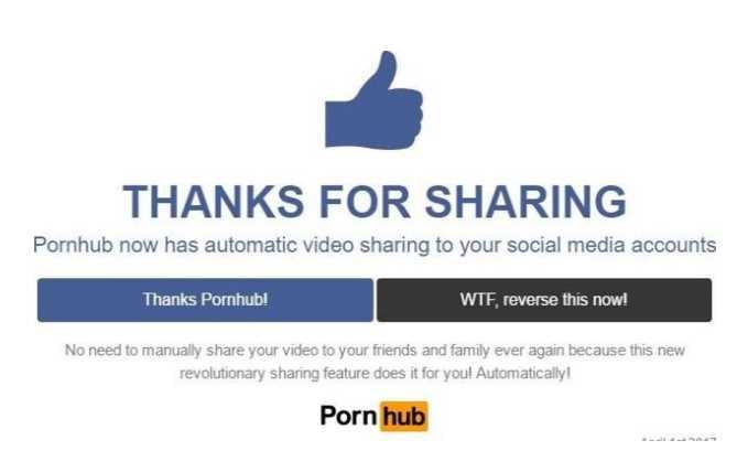 PornHub juega cruel broma a usuarios