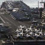 Portaaviones de EU inicia maniobras con Corea del Sur