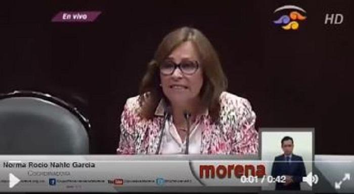 Diputado del PRI y Yunes habrían dado el dinero a Eva Cadena: Rocío Nahle