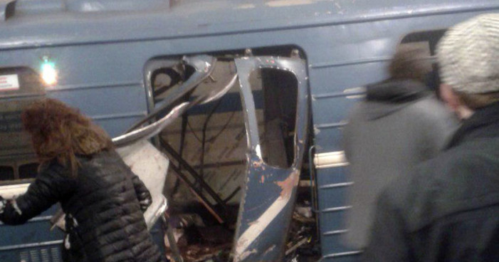 Explosiones en Metro de San Petesburgo dejan 10 muertos, 20 heridos (Videos)