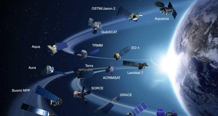 Alertan sobre una colisión de los satélites que órbita nuestro planeta