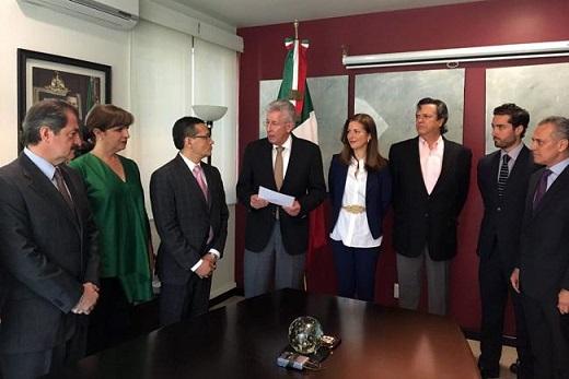 Remueven a Mónica Aspe de la SCT a la OCDE