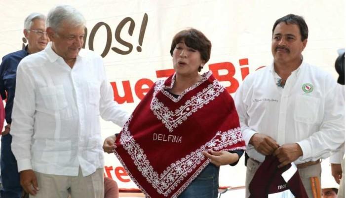 Delfina Gómez llama a Dante Delgado y MC sumarse a su candidatura