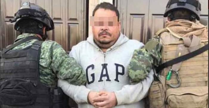 Detienen a 'La Hamburguesa', líder del Cártel del Golfo en Zacatecas