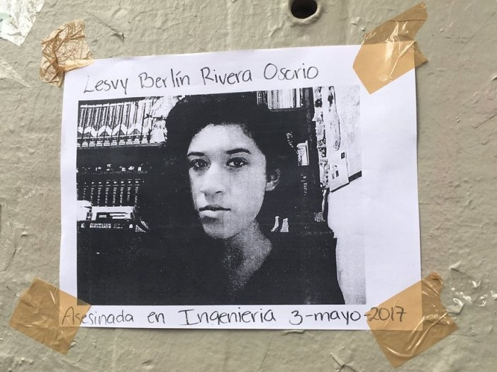 """Justicia para Lesvy Berlín Rivera"", pide su familia"