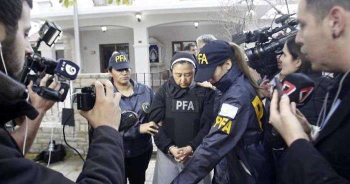 Monja japonesa detenida por tráfico de menores en Argentina