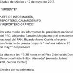 ¿Josefina declina por Zepeda? PAN y PRD convocan a conferencia conjunta