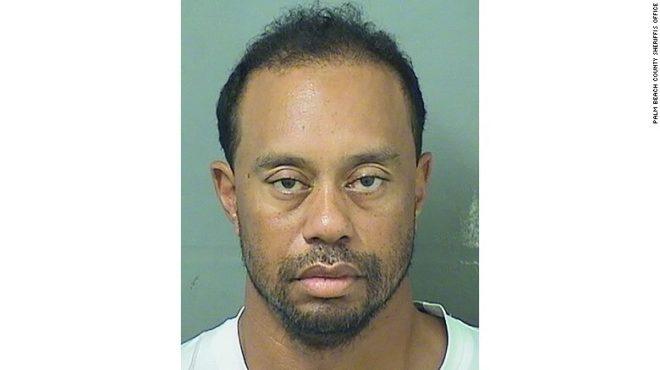 Tiger Woods arrestado por conducir ebrio en Florida