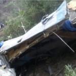 Autobús  cae a barranco en Chiapas, pasajeros mueren