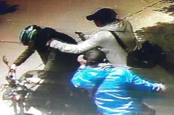 Captan asalto en la delegación Benito Juárez (VIDEO)