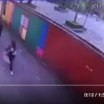 Taxista agrede a estudiante de secundaria en Tlalpan (VIDEO)