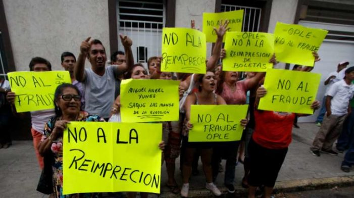 Sujetos armados roban boletas electorales en Veracruz