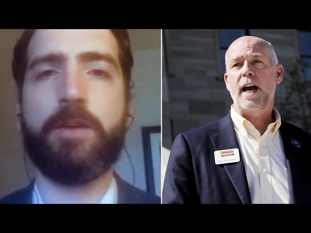 Candidato republicano en EU golpea a periodista por preguntar
