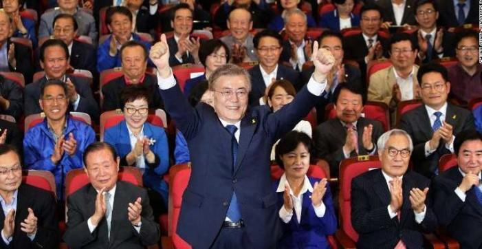 Nuevo presidente de Corea del Sur promete mejor relación con del Norte