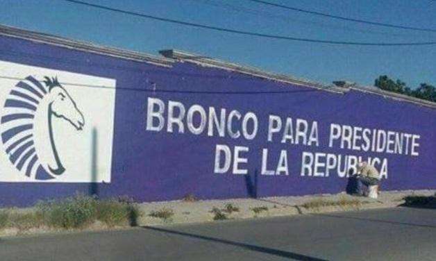 "Promociona partido de Humberto Moreira a ""El Bronco"" para presidente"