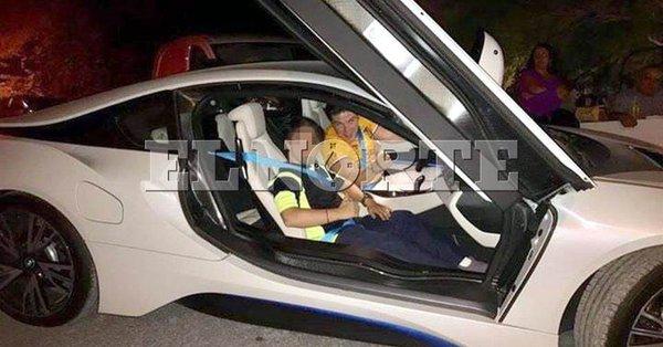 Captan a diputado de MC en BMW de 2.6 millones de pesos