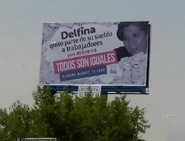 Peña Nieto y el PRI intensifican campaña millonaria contra Delfina