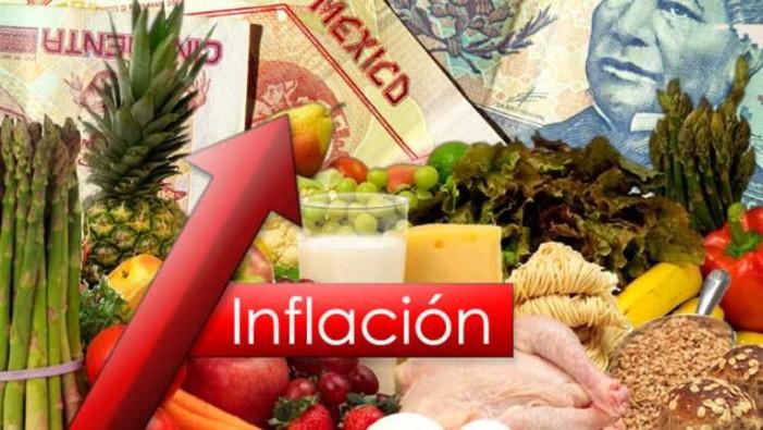 Inflación llega a su nivel más alto desde 2009