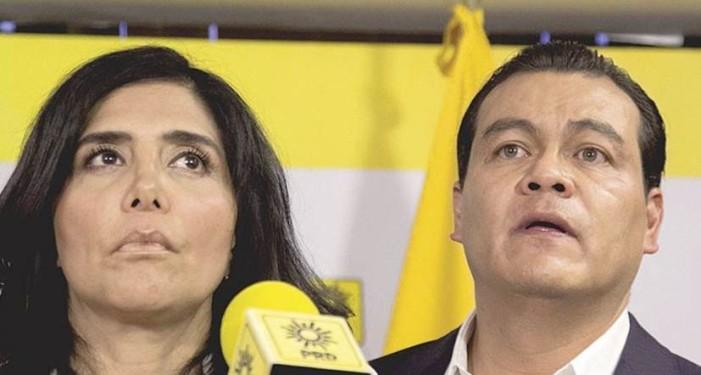 Zepeda levanta la mano para ser el candidato presidencial del Frente del PRD
