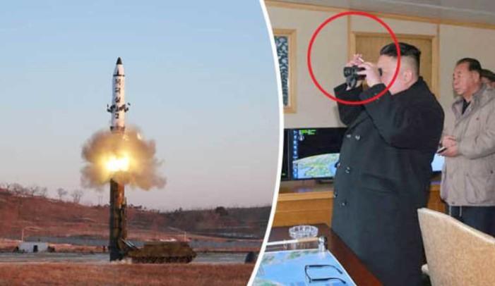 Corea del Norte muestra al mundo el lanzamiento de su misil balístico